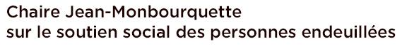 Chaire Jean-Monbourquette sur le soutien social des personnes endeuillées